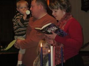 Second Sunday of Advent - Clark Family