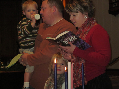 Second Sunday of Advent - Clark Family